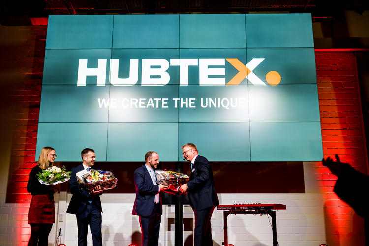 Opening of HUBTEX Customer Center