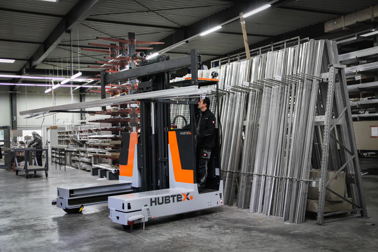 HUBTEX BasiX lifting long aluminum profiles