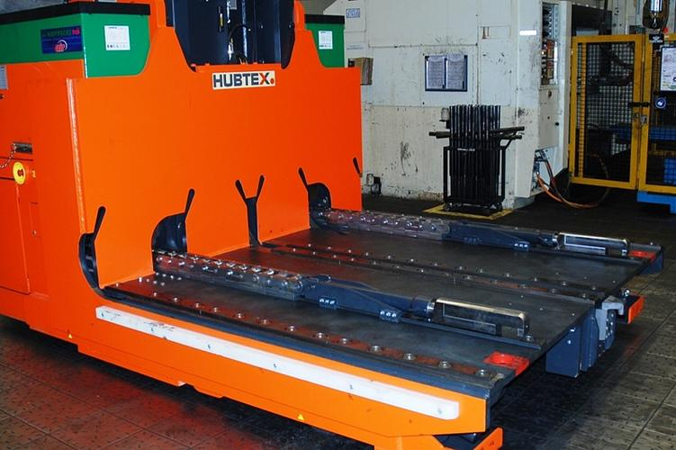A tool changer with attached tool platform.