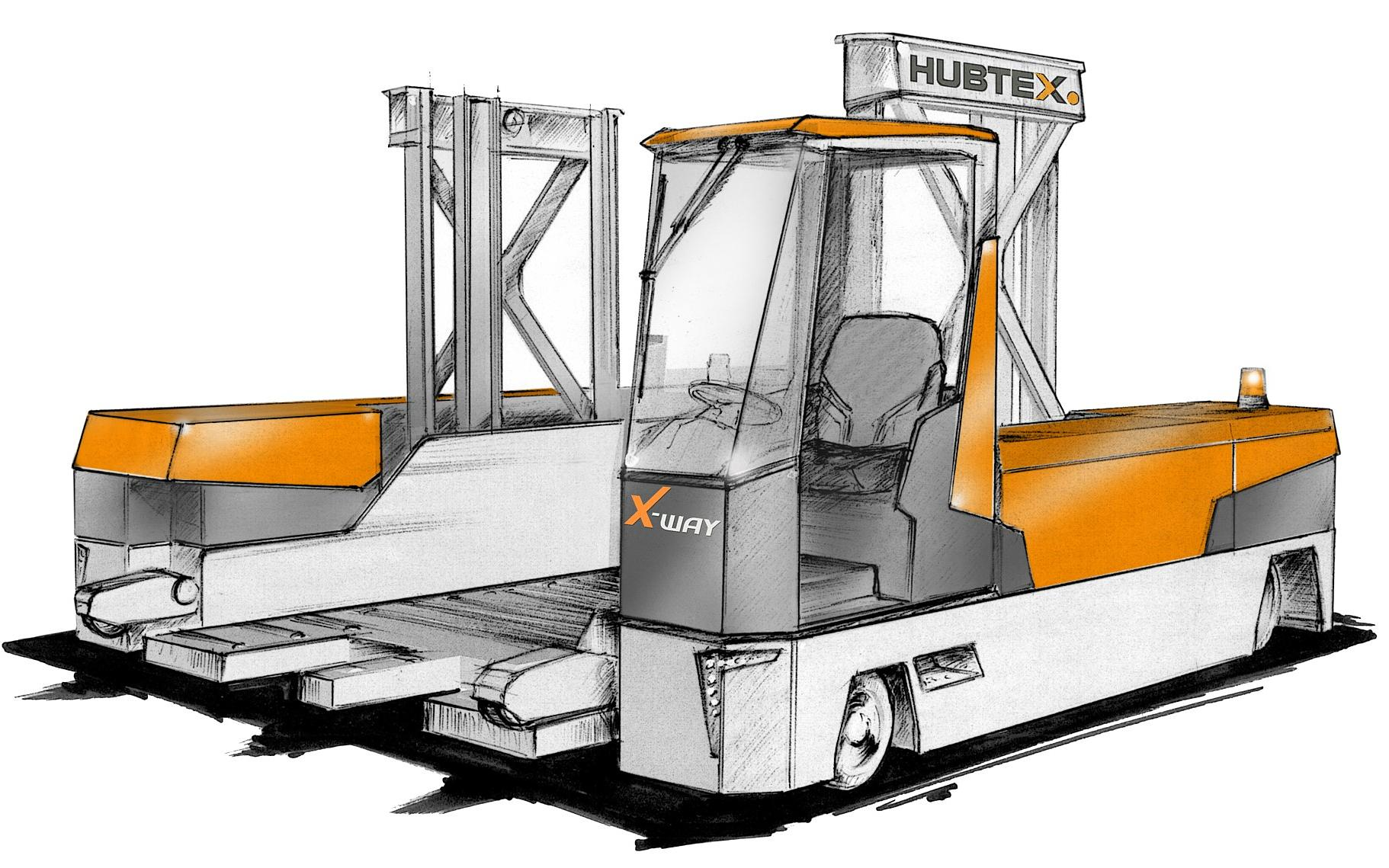 Plano del X-Way Mover de HUBTEX | DIMOS