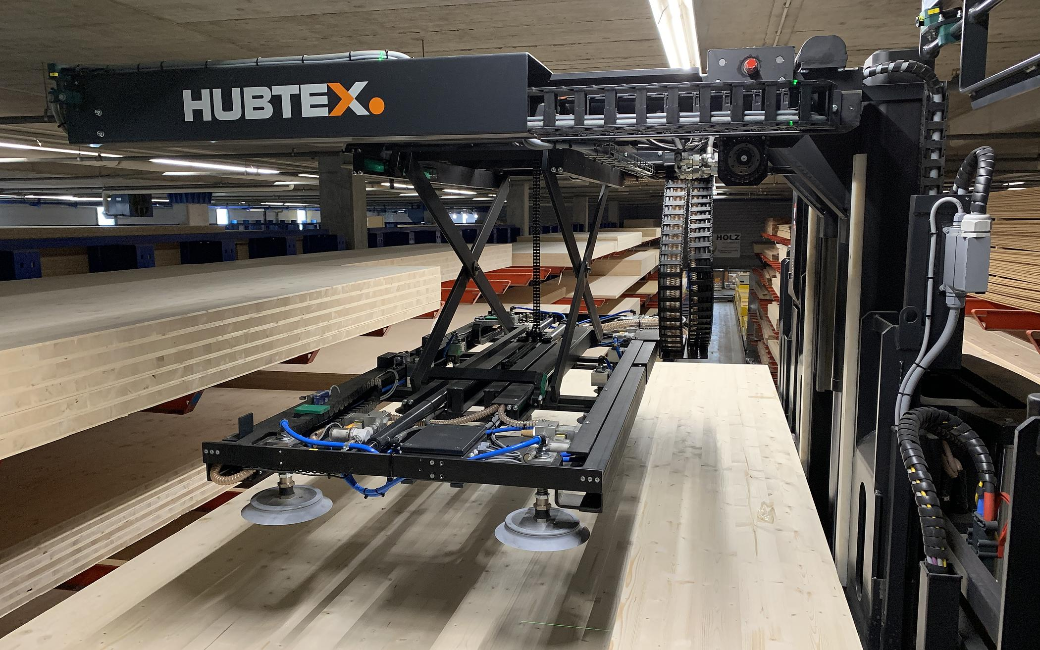 HUBTEX Vacuum in the Wood Industry
