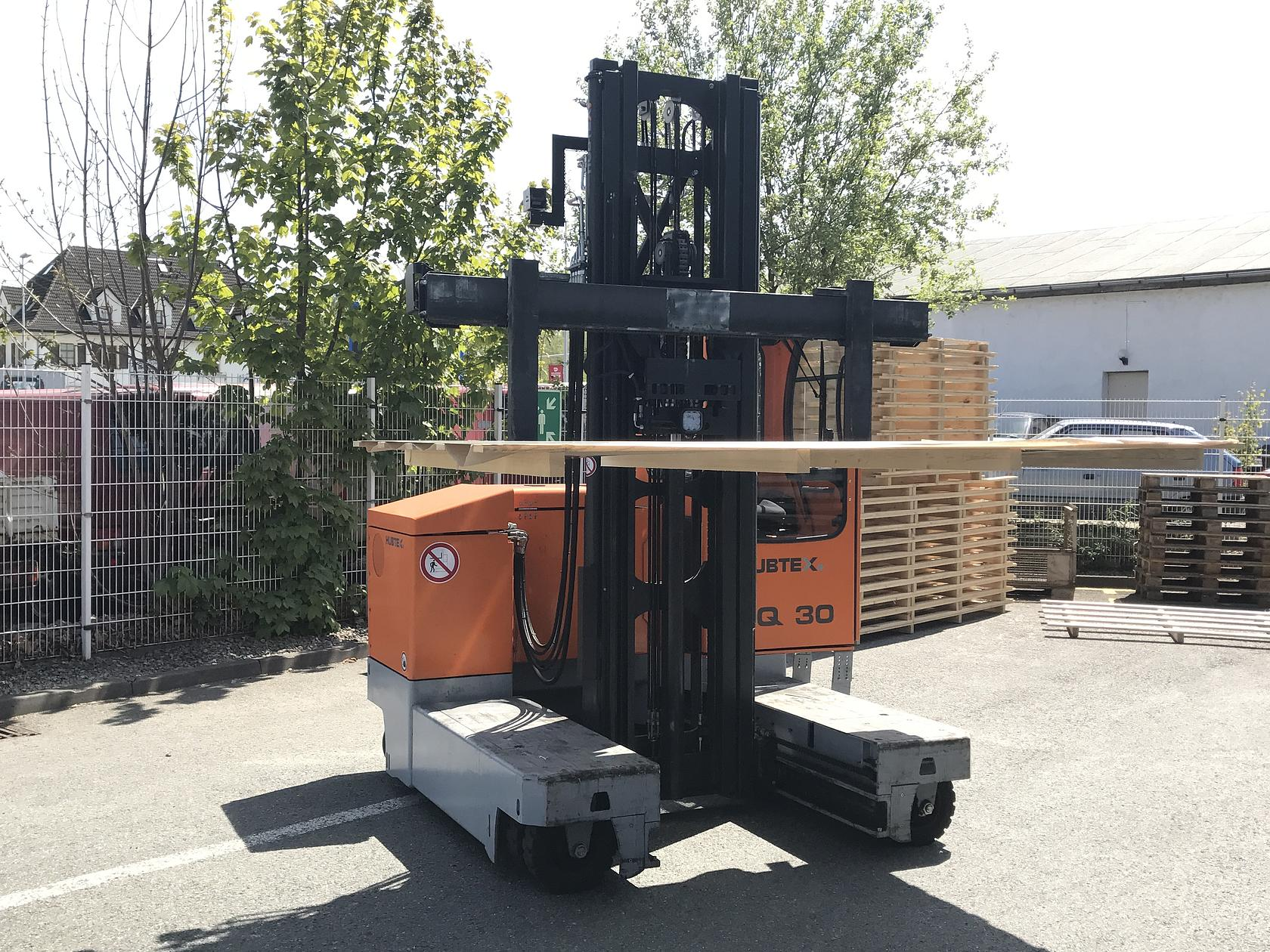 HUBTEX side loader MQ 30 series 2120