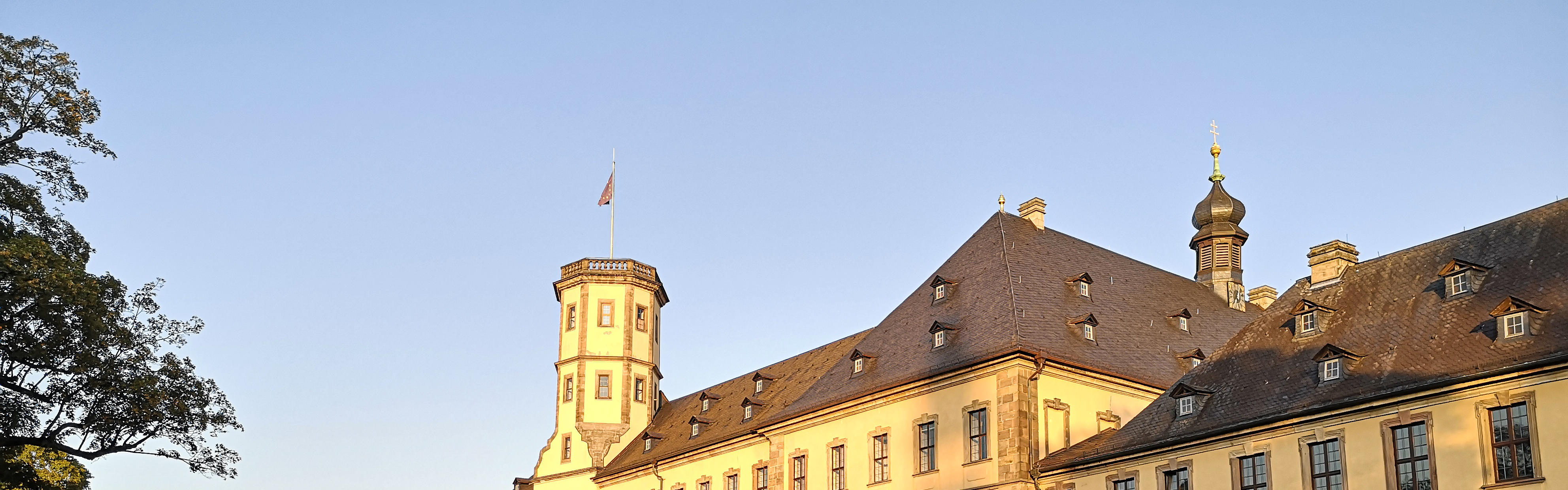 View of the town palace in Fulda